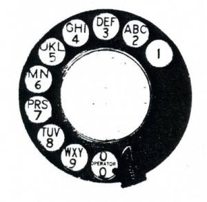 A Telephone Dial